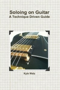 A book Kyle uses in guitar lessons.