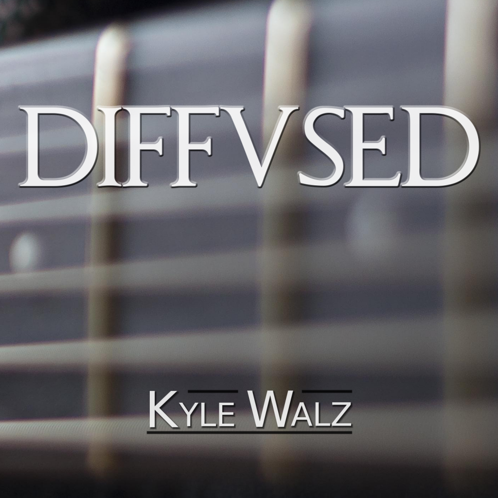 Diffused cover art
