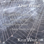 One Word lyrics