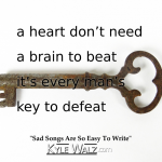 Sad Songs Are So Easy To Write lyrics